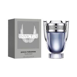 Invictus by Paco Rabanne for Men Eau de Toilette Spray, 3.4 Oz
