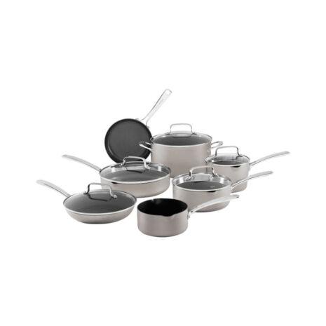 KitchenAid 12-Piece Non-Stick Aluminium Cookware Set