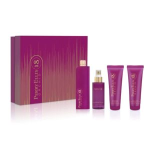 Perry Ellis 18 Orchid Fragrance for Women 4 Piece Gift Set