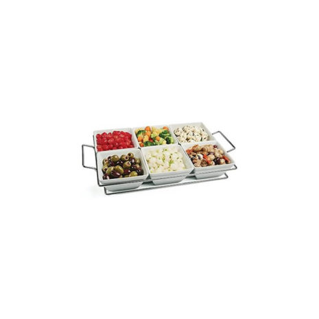 Stanton Collection 7 Piece Serving Tray and Bowls Set