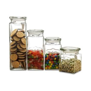 Circleware Yorkshire Canister Glass Lid Storage Container