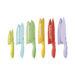 Cuisinart Advantage 12pc Ceramic Coated Knife Set - Assorted Colours