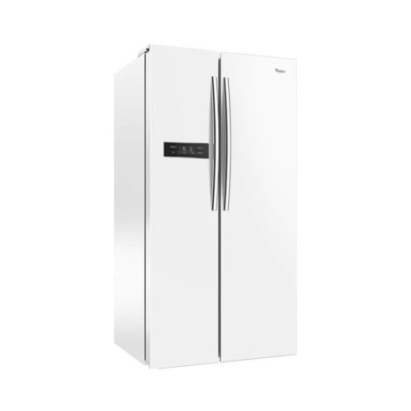 Whirlpool 19cft Side-by-Side Fridge, Frost Free, Tropicalized - White