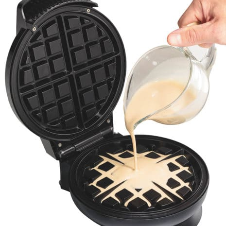Hamilton Beach Belgian-Style Waffle Maker - Black