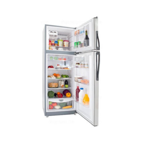 Whirlpool 11cft Top-Bottom Mount Fridge Free, Tropicalized - Silver