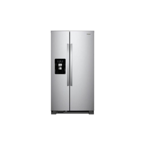Whirlpool 25cft Side-by-Side Fridge, Frost Free, Tropicalized - Stainless Steel