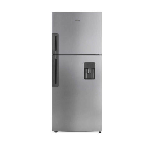 Whirlpool 16cft Top-Bottom Mount Fridge with Dispenser, Frost Free, Tropicalized - Silver