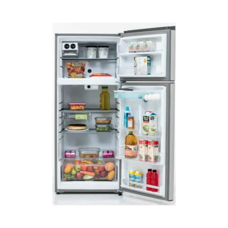 Whirlpool 18cft Top-Bottom Mount Fridge Tropicalized - Stainless Steel