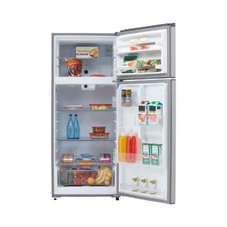 Whirlpool 18cft Top-Bottom Mount Fridge, Frost Free, Tropicalized - Silver