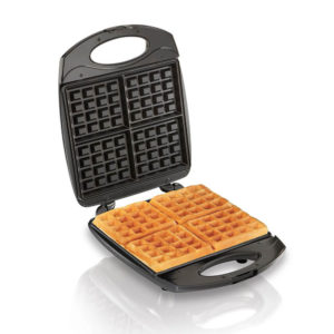 Hamilton Beach Belgian 4-Waffle Maker - Black
