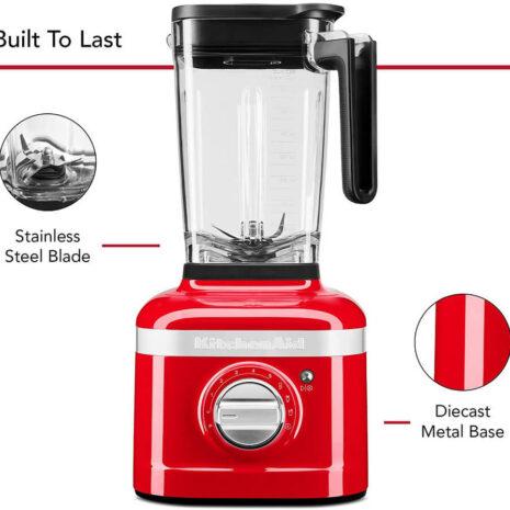 KitchenAid 3spd Ice Crushing Blender - Passion Red
