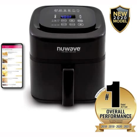 Nuwave 7.25 Qt. Air Fryer - Black