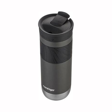 Contigo 20oz Stainless Steel Travel Mug with SNAPSEAL - Black Licorice