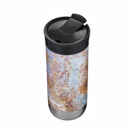 Contigo 16oz Stainless Steel Travel Mug with SNAPSEAL - Rustic Gold
