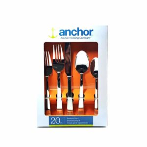 Anchor Hocking 20 Pc Cutlery Set