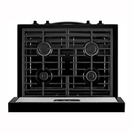 """Whirlpool 30"""" 5-Burner Gas Range with Timer - Stainless Steel"""