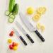KitchenAid 3 Piece Cutlery Set - Onyx Black