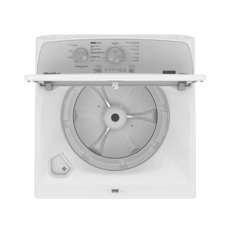 Whirlpool 16kg Automatic Washer with Agitator, White