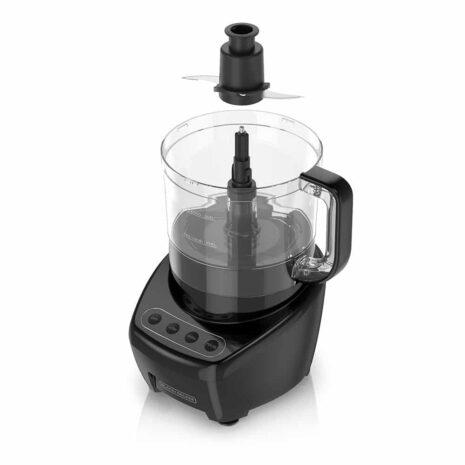 Black and Decker 8 cup Food Processor - Black
