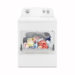 Whirlpool 7cft Top Load Electric Dryer with AutoDry Drying System, White