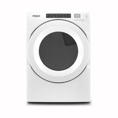Whirlpool 7.4 cu. ft. Front Load Electric Dryer, White