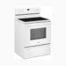 "Whirlpool 30"" 4-Burner Ceramic Top Electric Range with Storage Drawer - White"