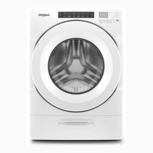 Whirlpool 4.5 cu. ft. Front Load Washer with Load & Go Dispenser, White