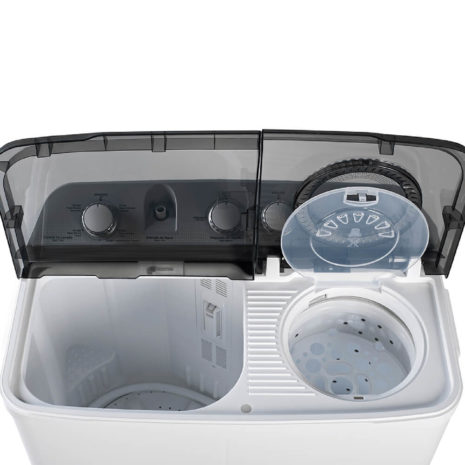 Acros 10.1kg Twin Tub Washer - White