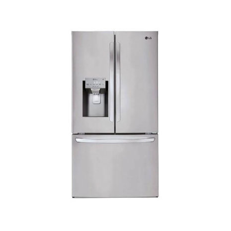 LG 26cft French Door Fridge with Ice & Water Dispenser - Stainless Steel