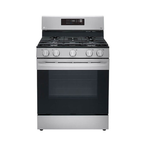 LG 5.8cft Smart Wi-Fi Enabled Convection Oven Gas Range with Air Fryer & EasyClean - Stainless Steel